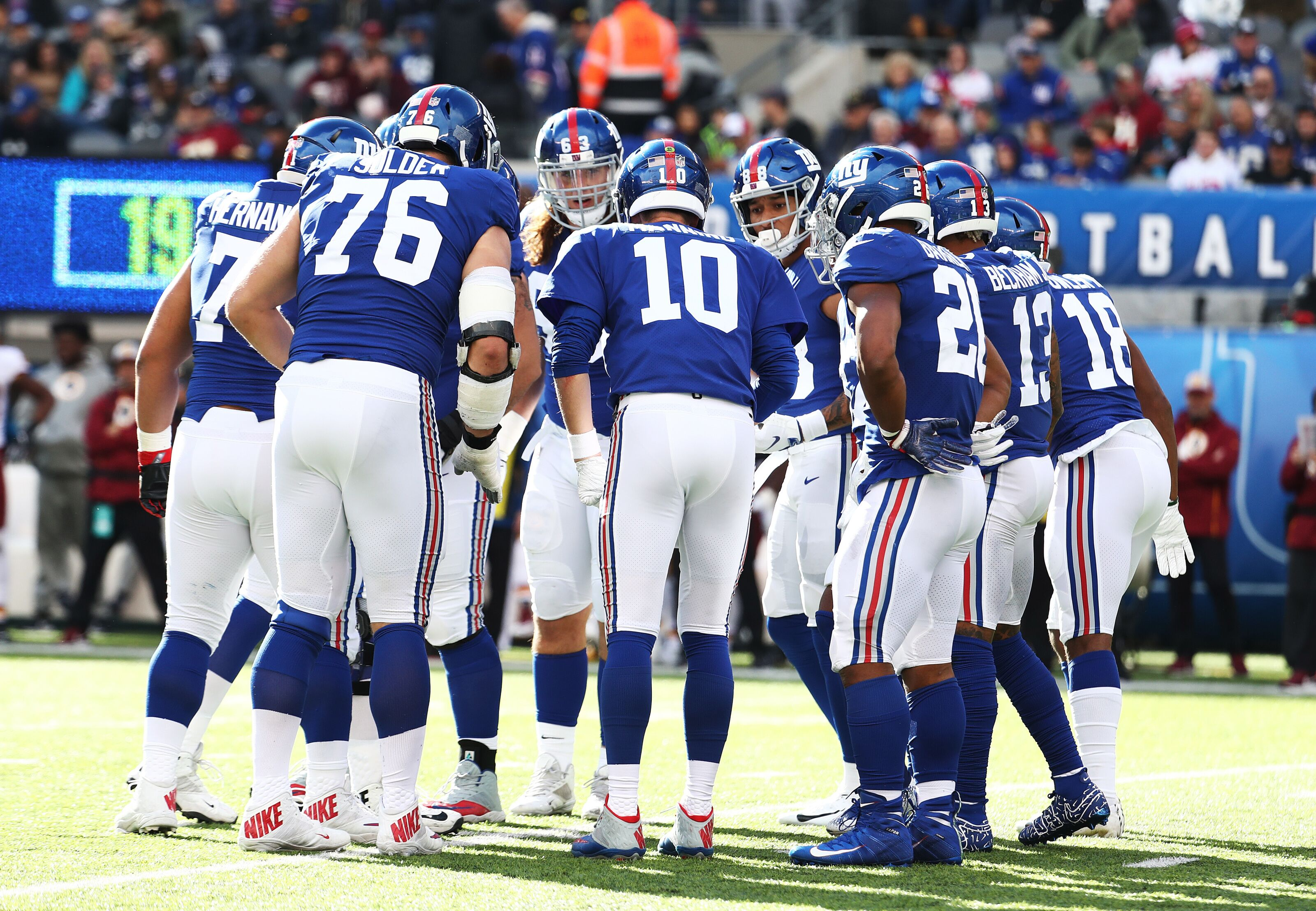 New York Giants: Giants don't need to beat 49ers, just play better than the Jets