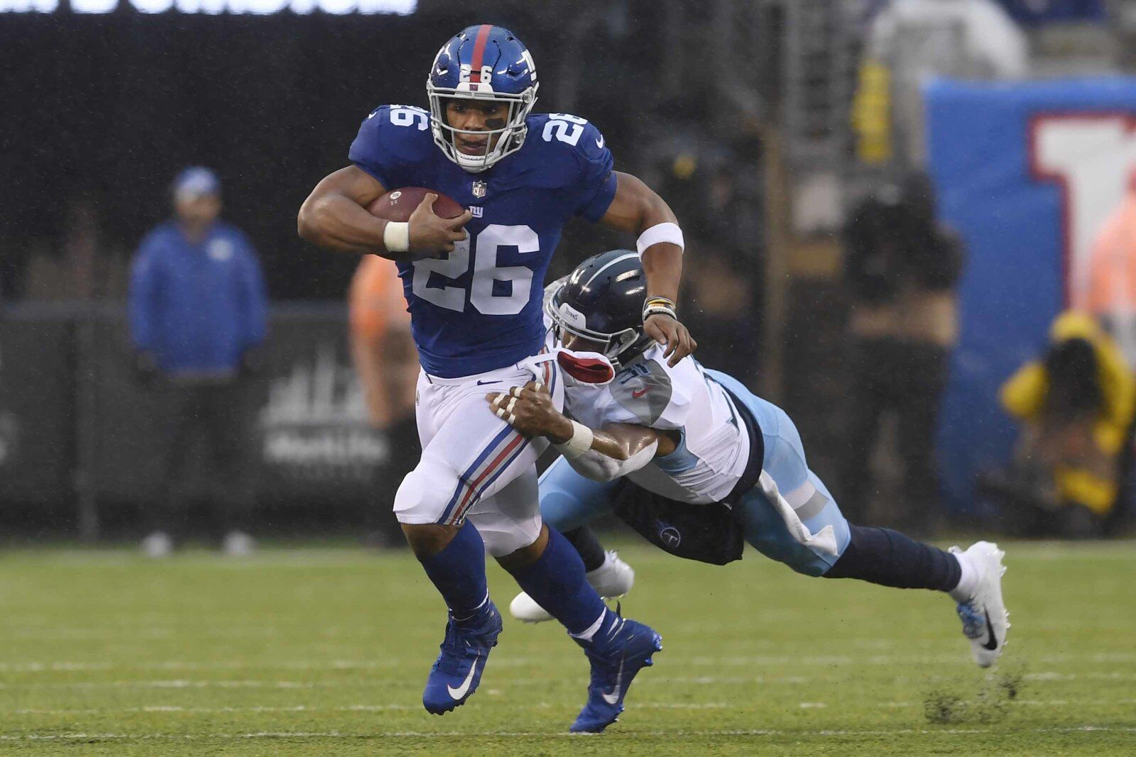 a7630b9690e New York Giants: Saquon Barkley runs his way to Offensive Rookie of the Year