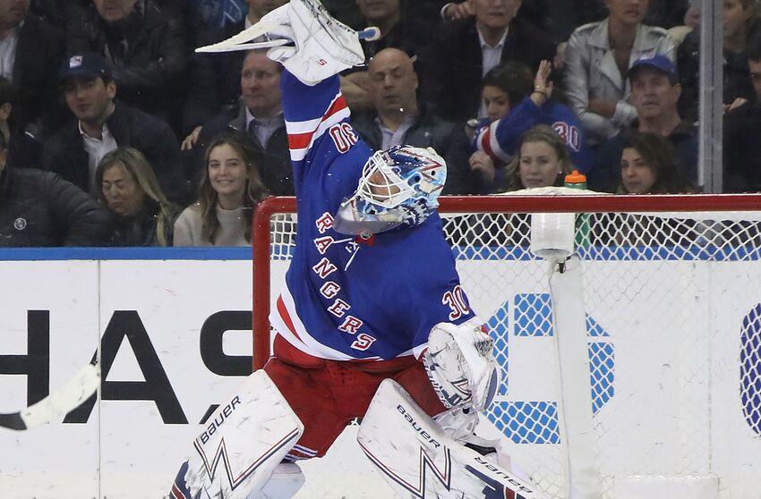 New York Rangers Henrik Lundqvist Legacy Like A Former New York Legend