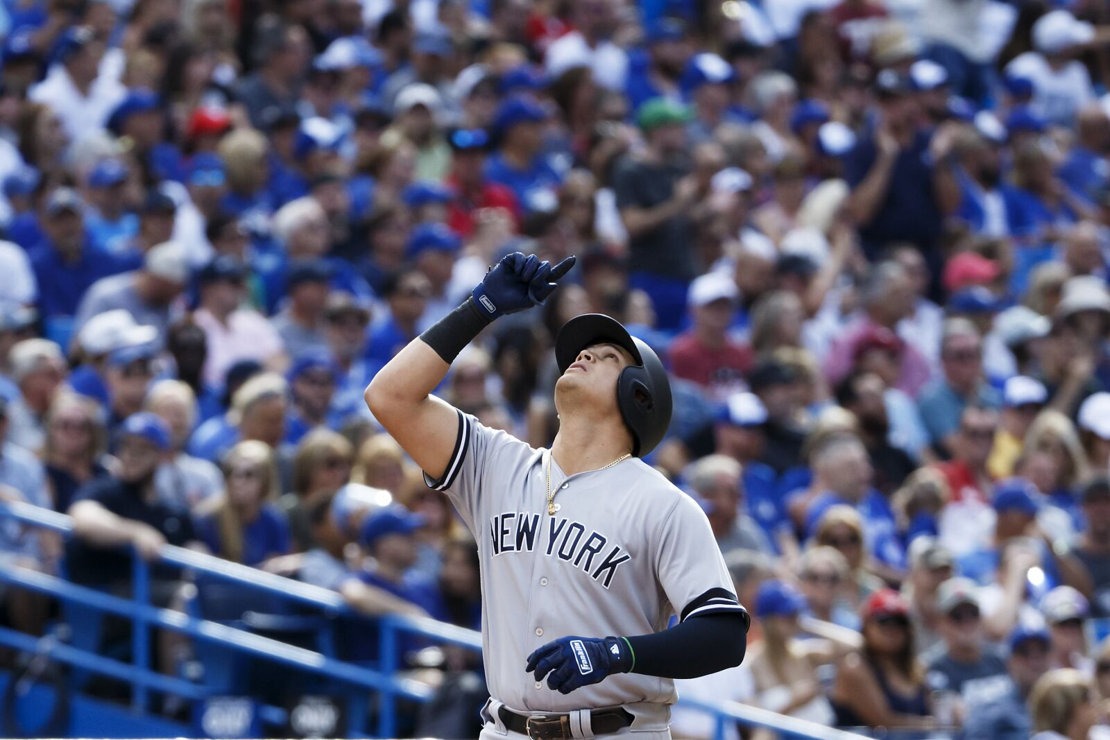 Gio Urshela is creating a future offseason issue for the New York Yankees