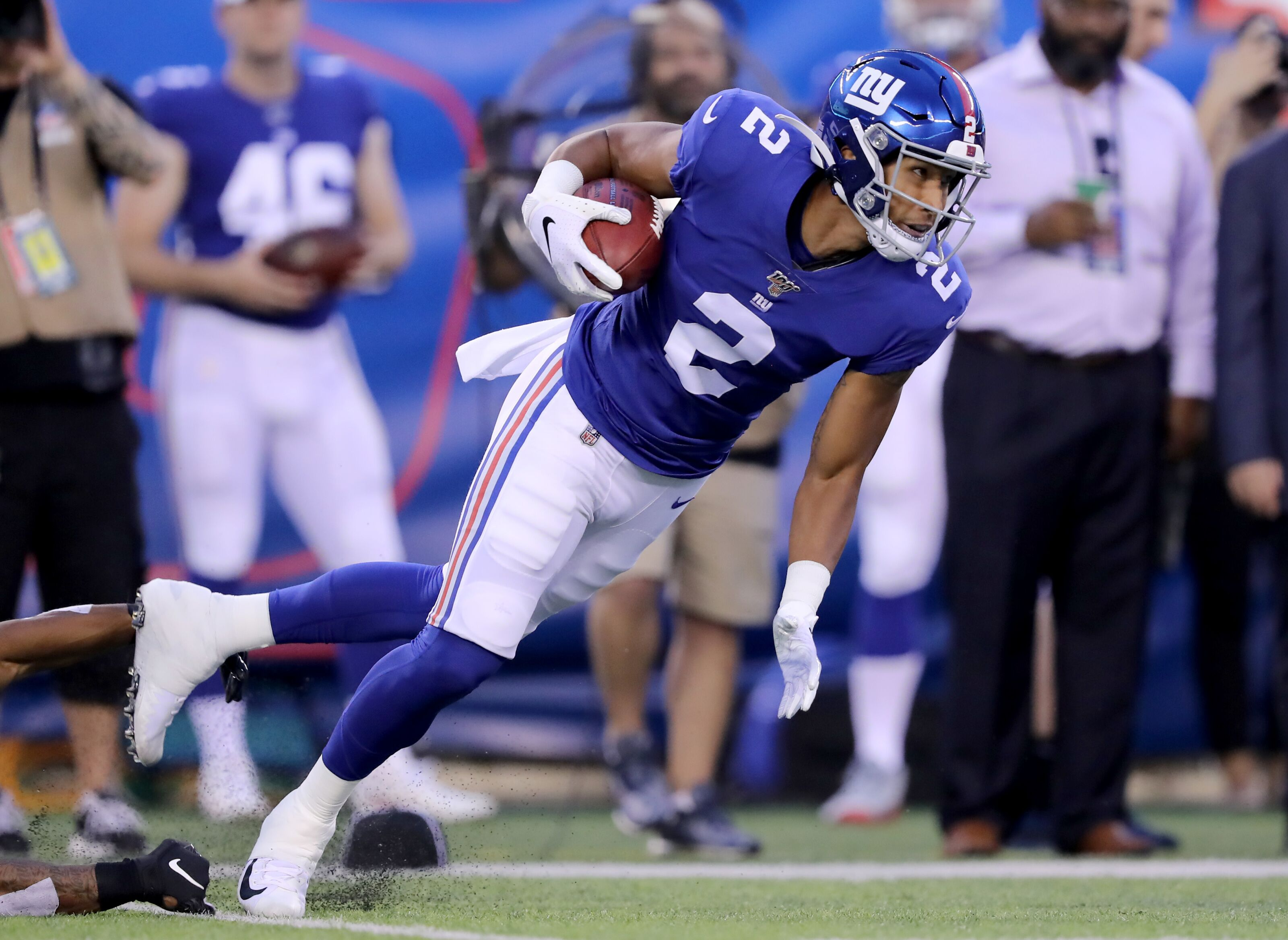 New York Giants: TJ Jones is proving his case for a roster spot