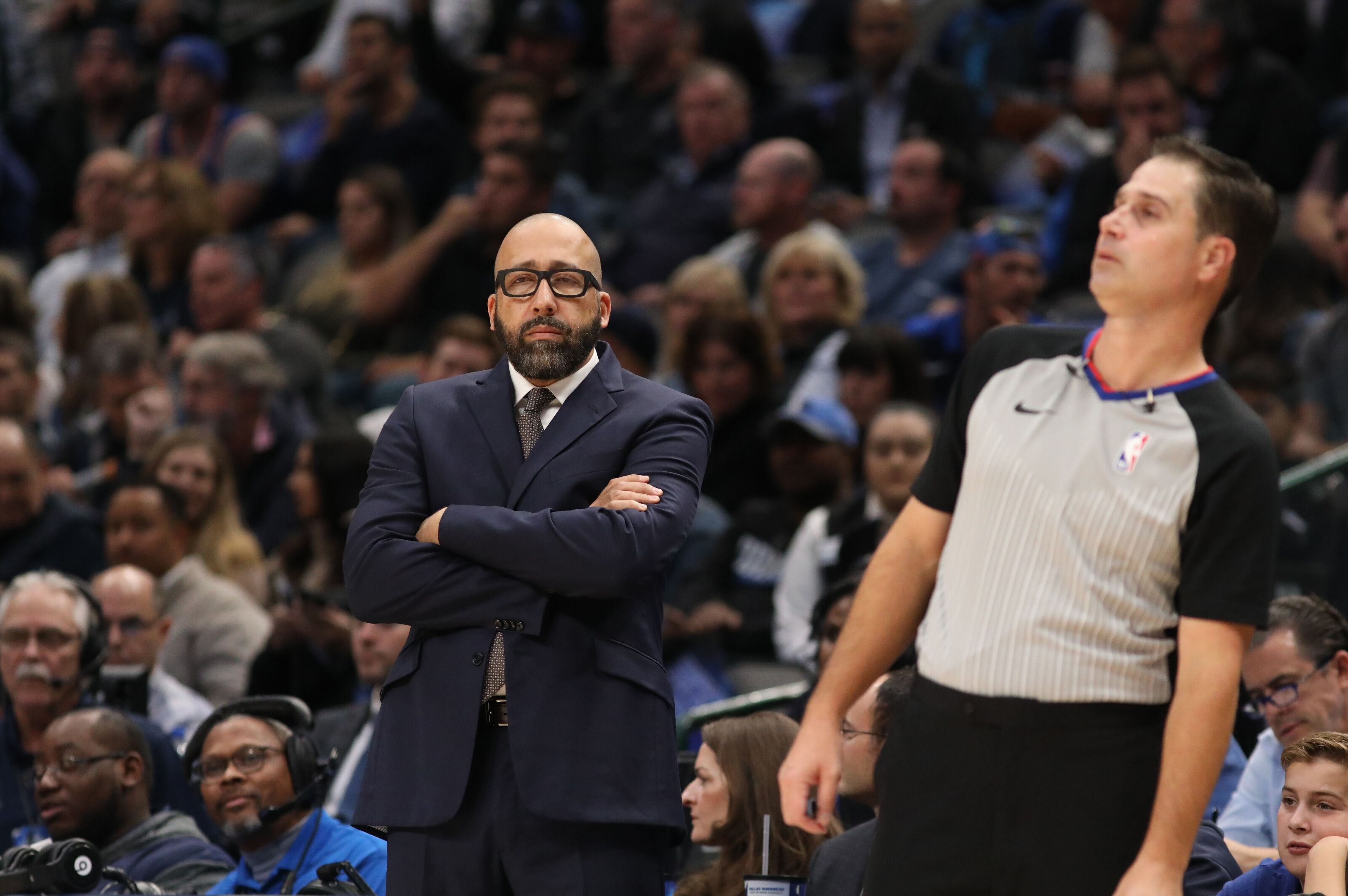 New York Knicks head coach David Fizdale's seat is heating up