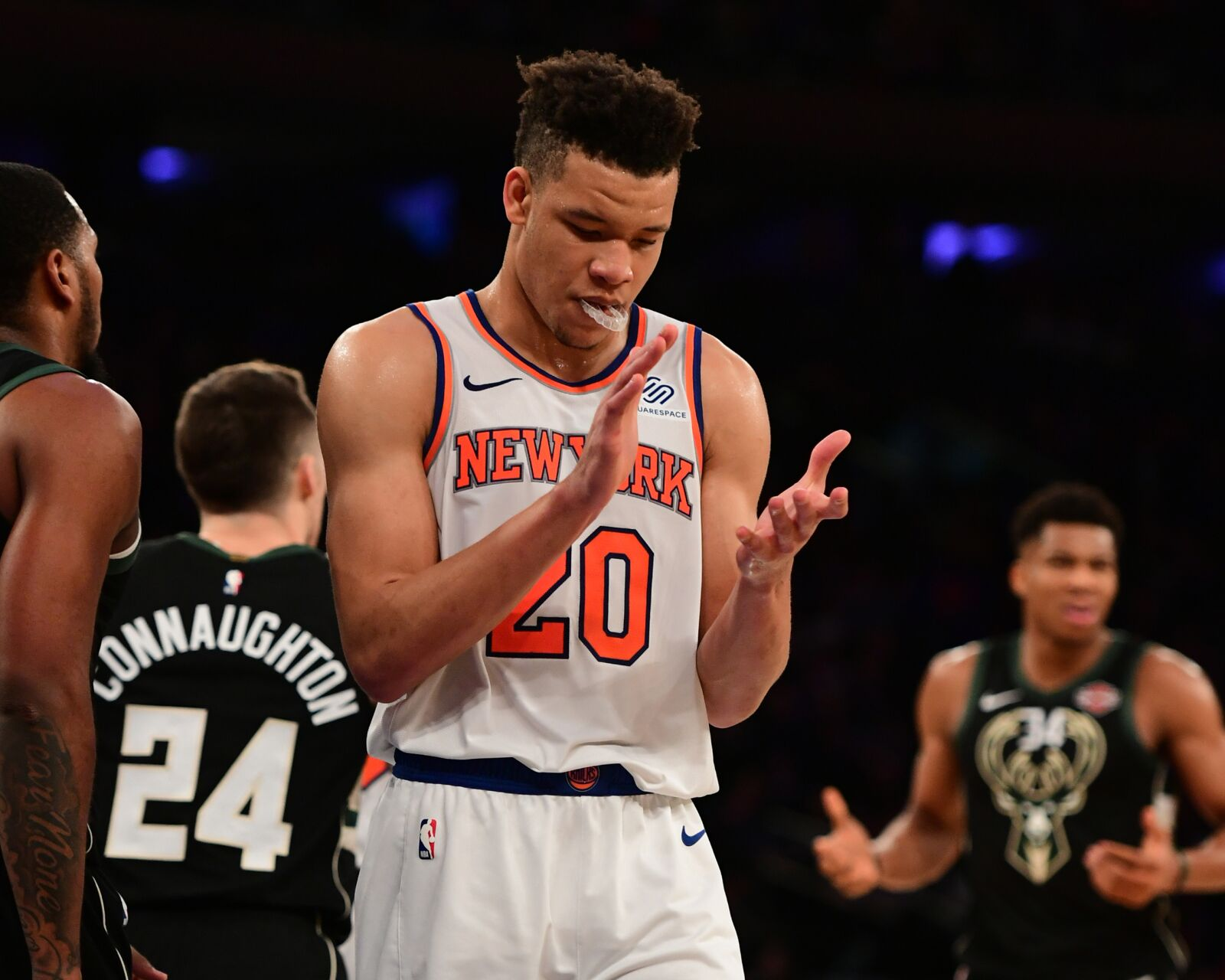 New York Knicks: Knicks go out with a whimper, have much to