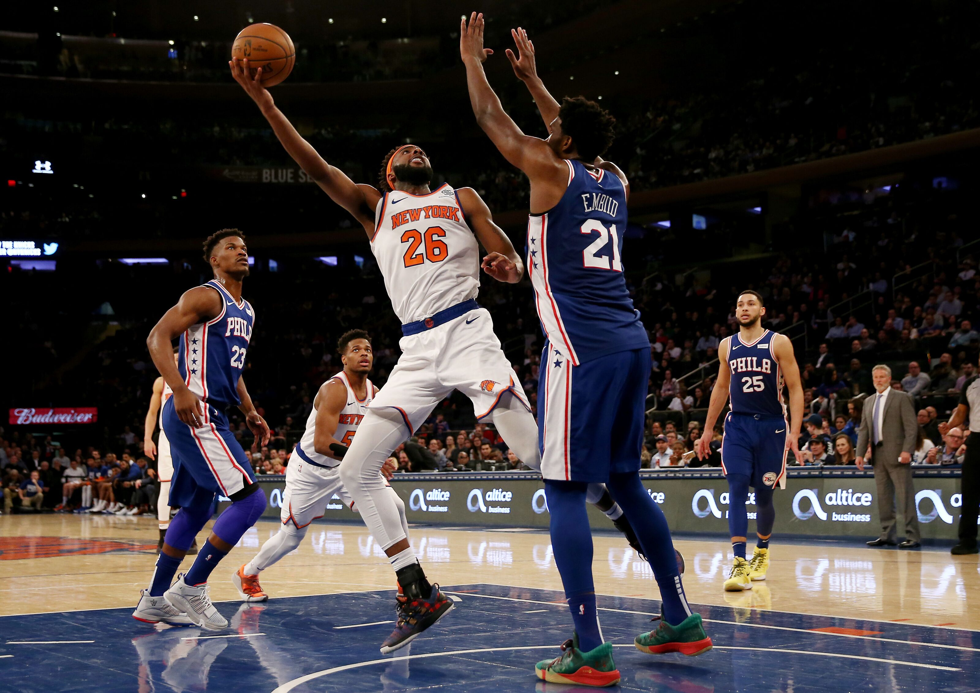 New York Knicks: New York Knicks: Early Starting Lineup Projections