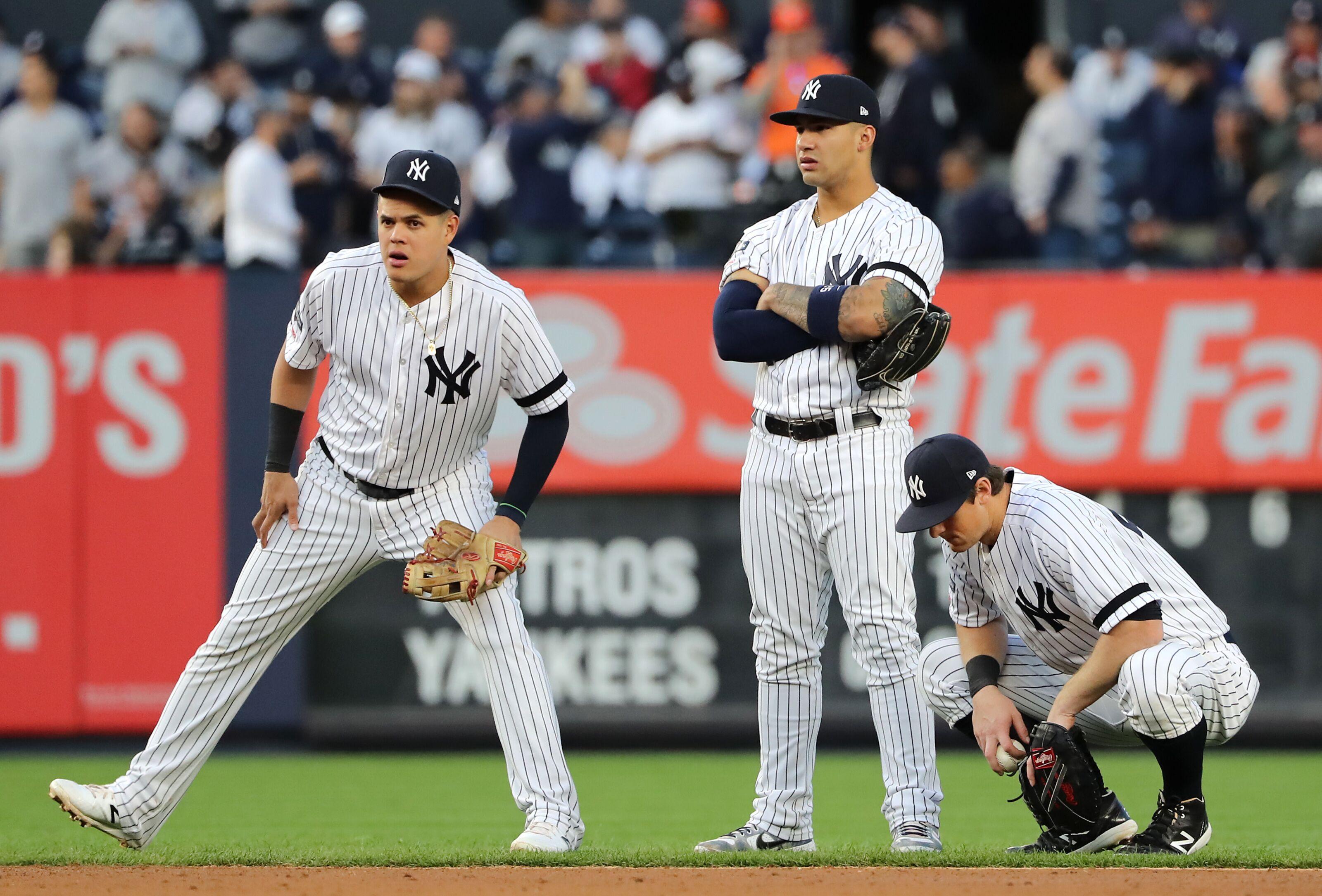 Predicting the New York Yankees infield next season