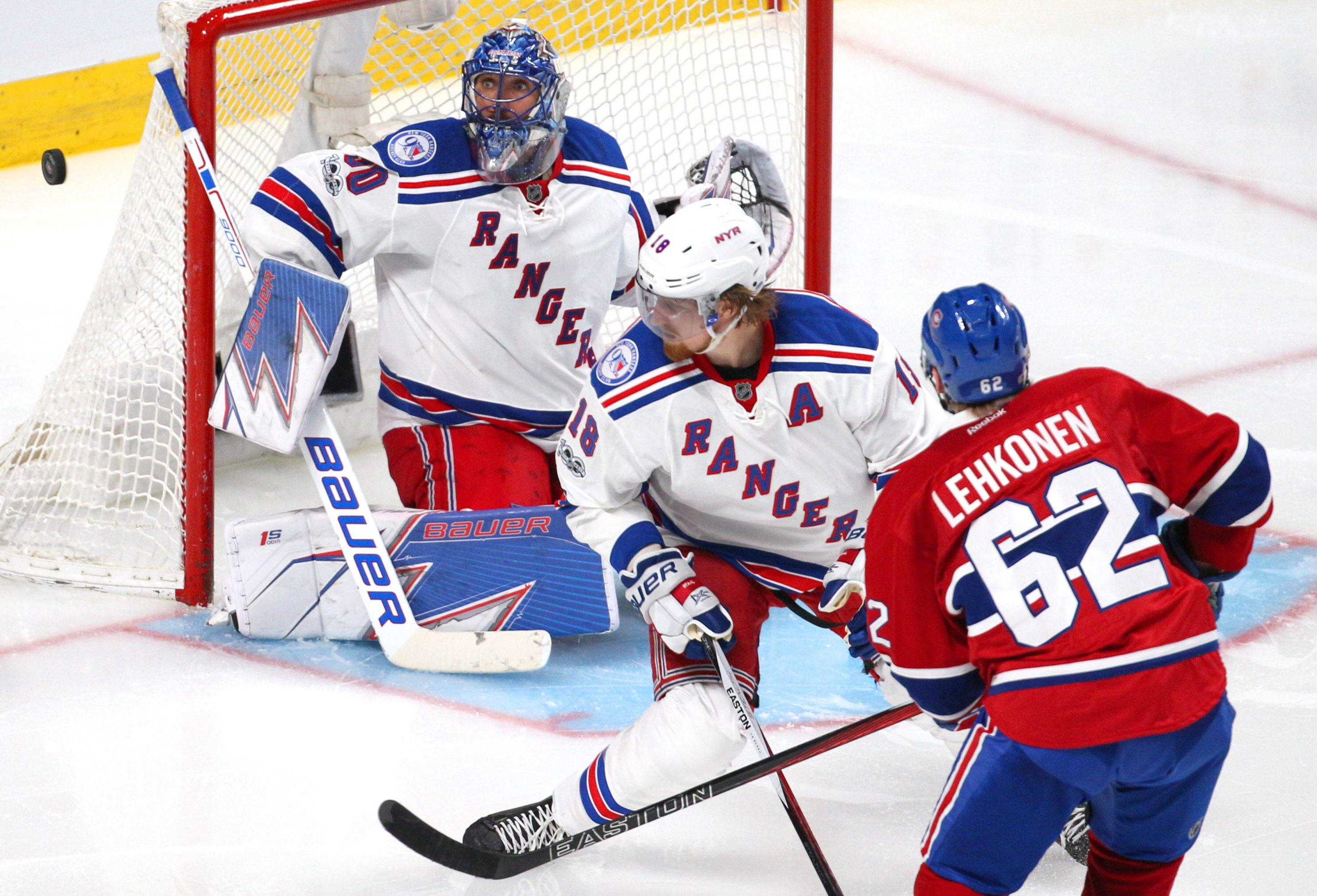 Canadiens vs. Rangers Live Steam: Watch NHL Playoffs Online