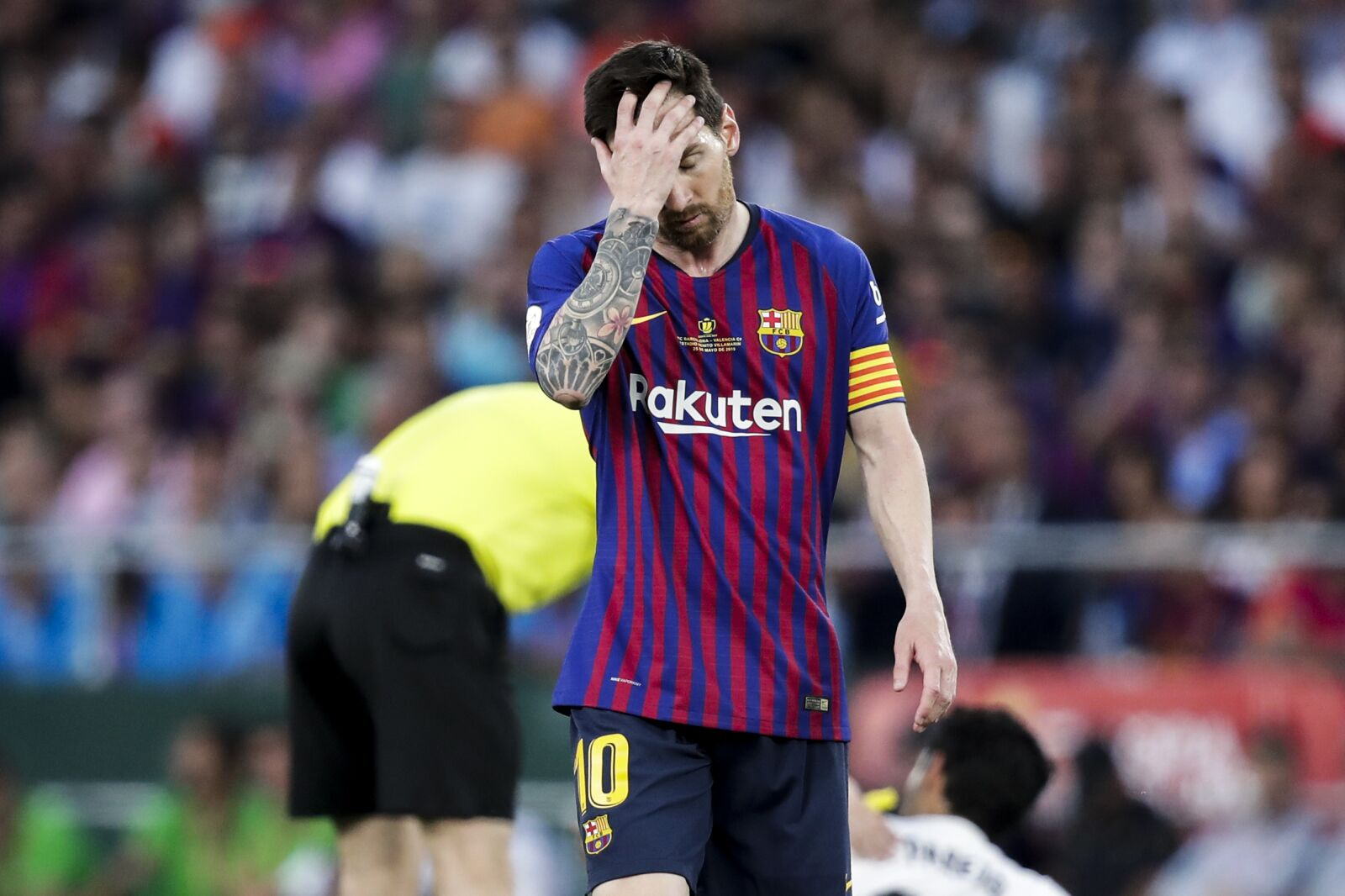 Barcelona legend slams Lionel Messi for star man's failure at the Camp Nou