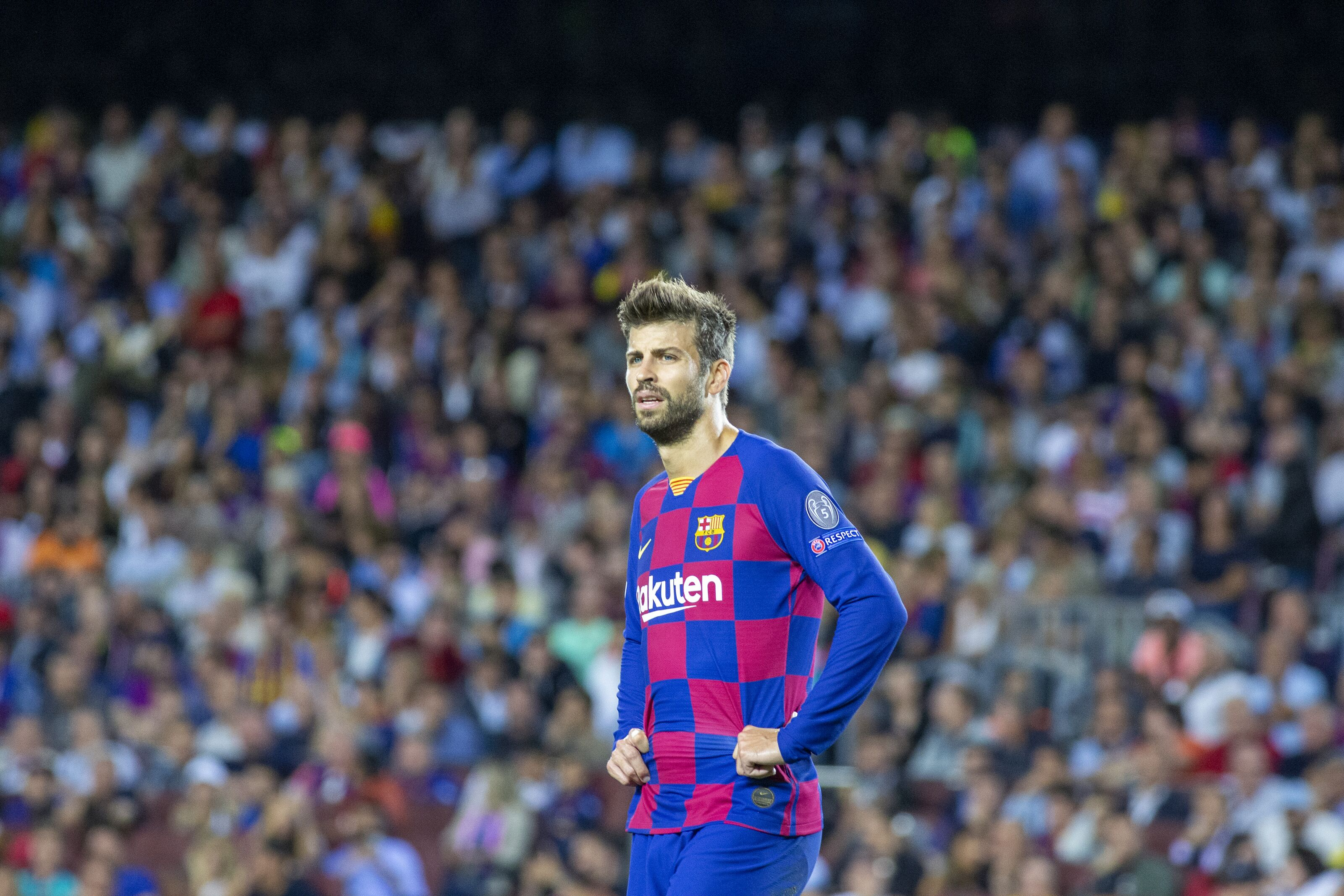 Barcelona locate Gerard Pique's young replacement