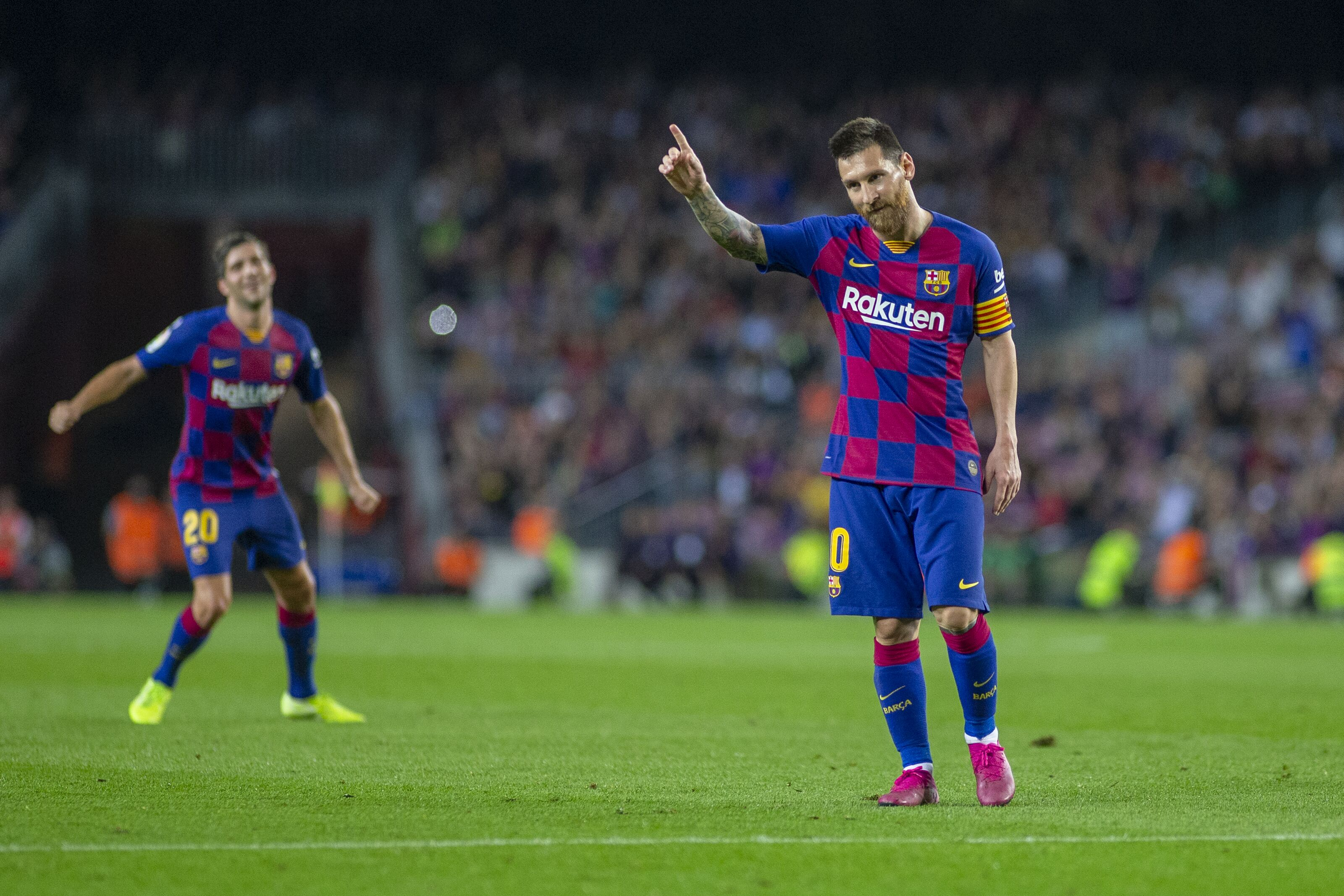 Lionel Messi asks Barcelona to sign Jordi Alba replacement after being unimpressed with Junior Firpo