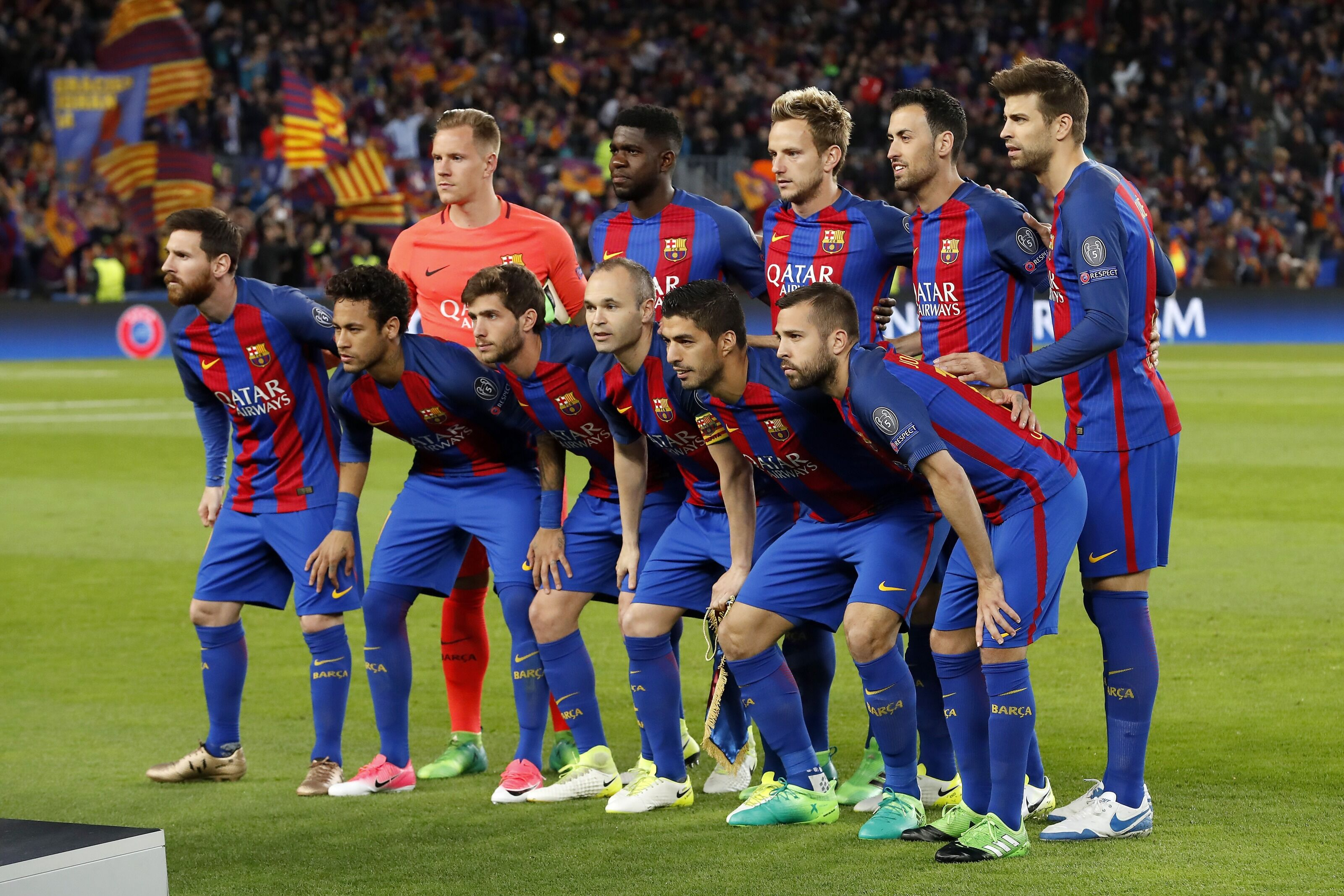 The Barcelona XI of the most successful decade in its history