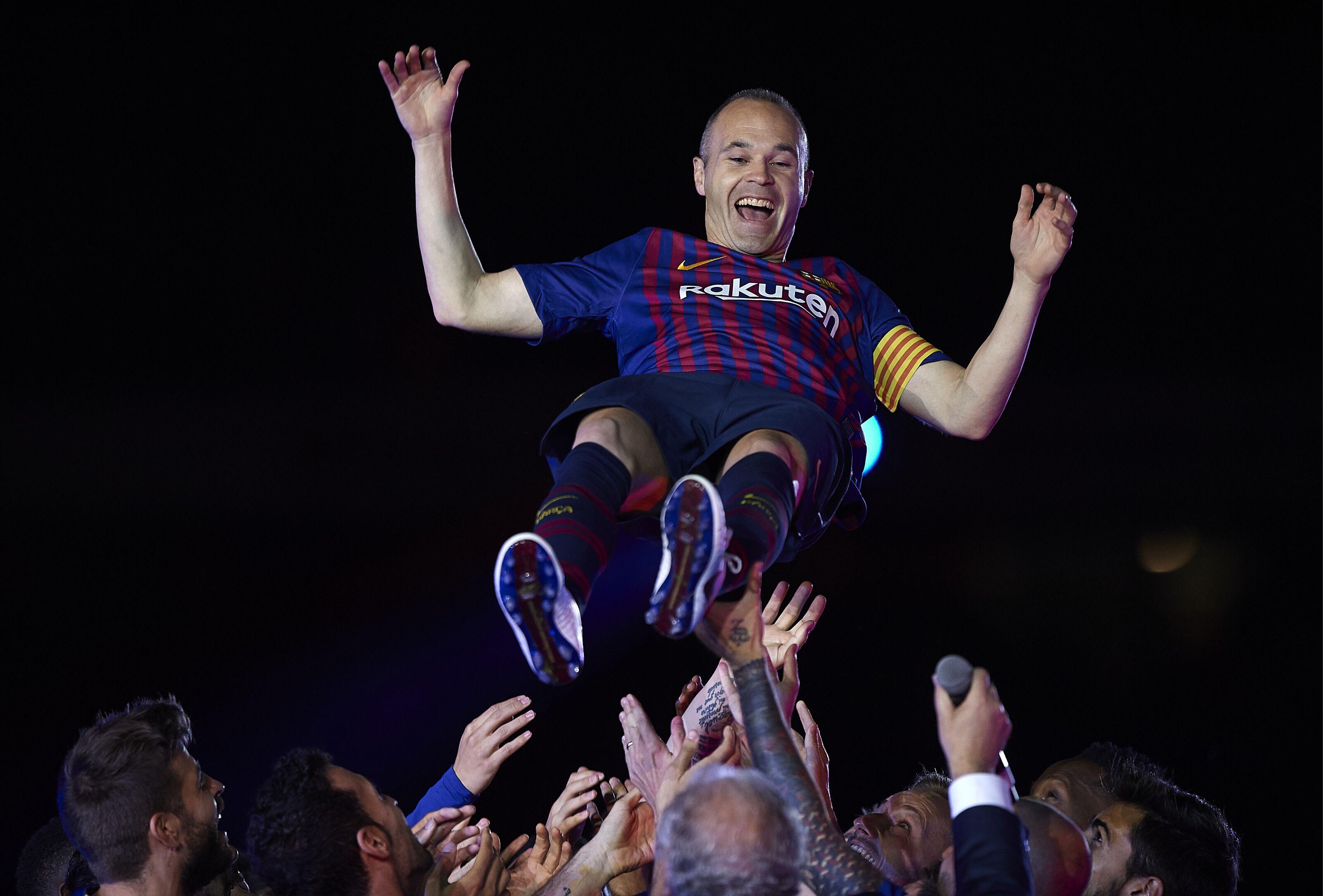Barcelona eye Bundesliga sensation as Andres Iniesta's long-term replacement