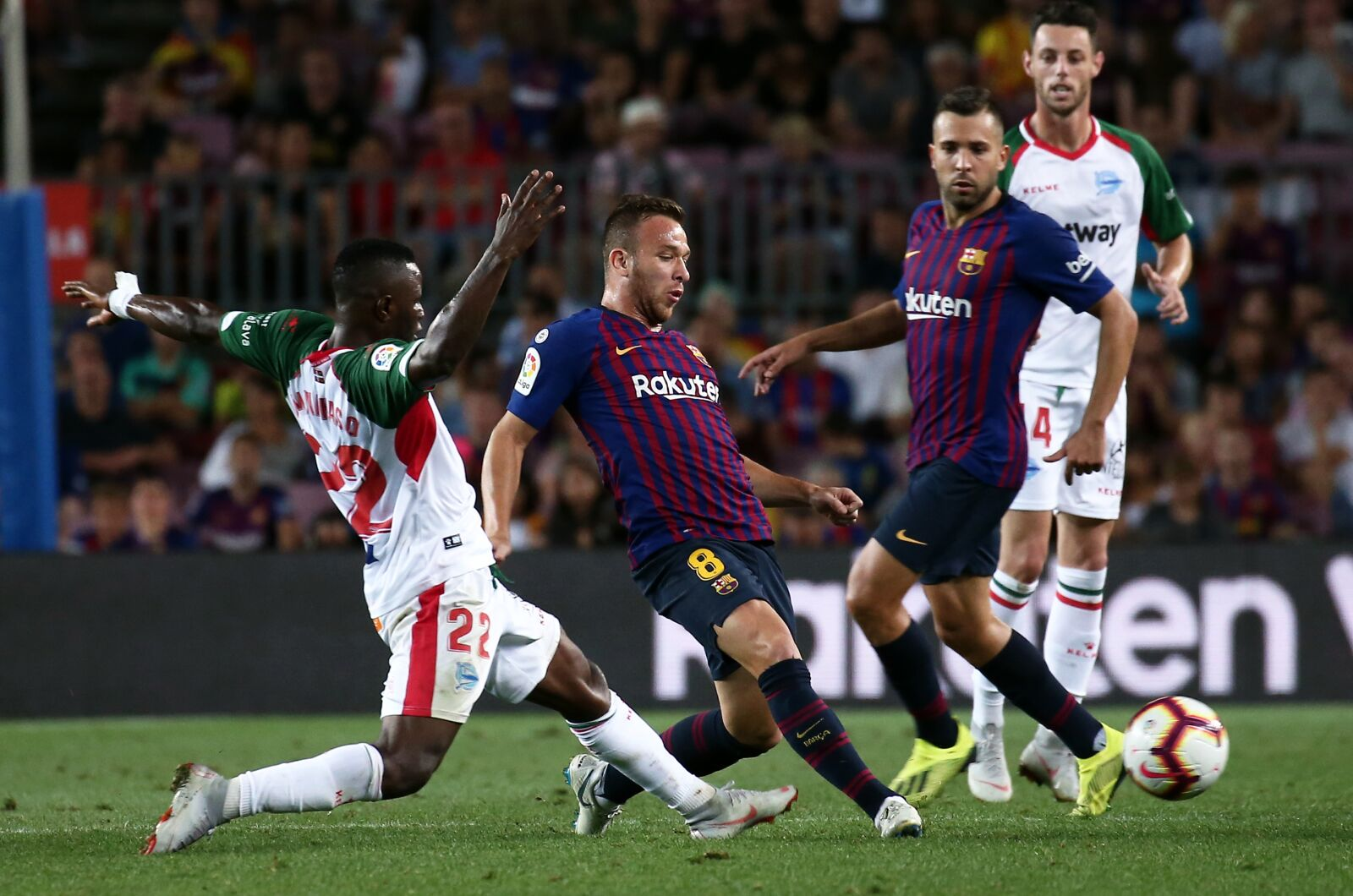 Barcelona squad released for Alaves midweek match