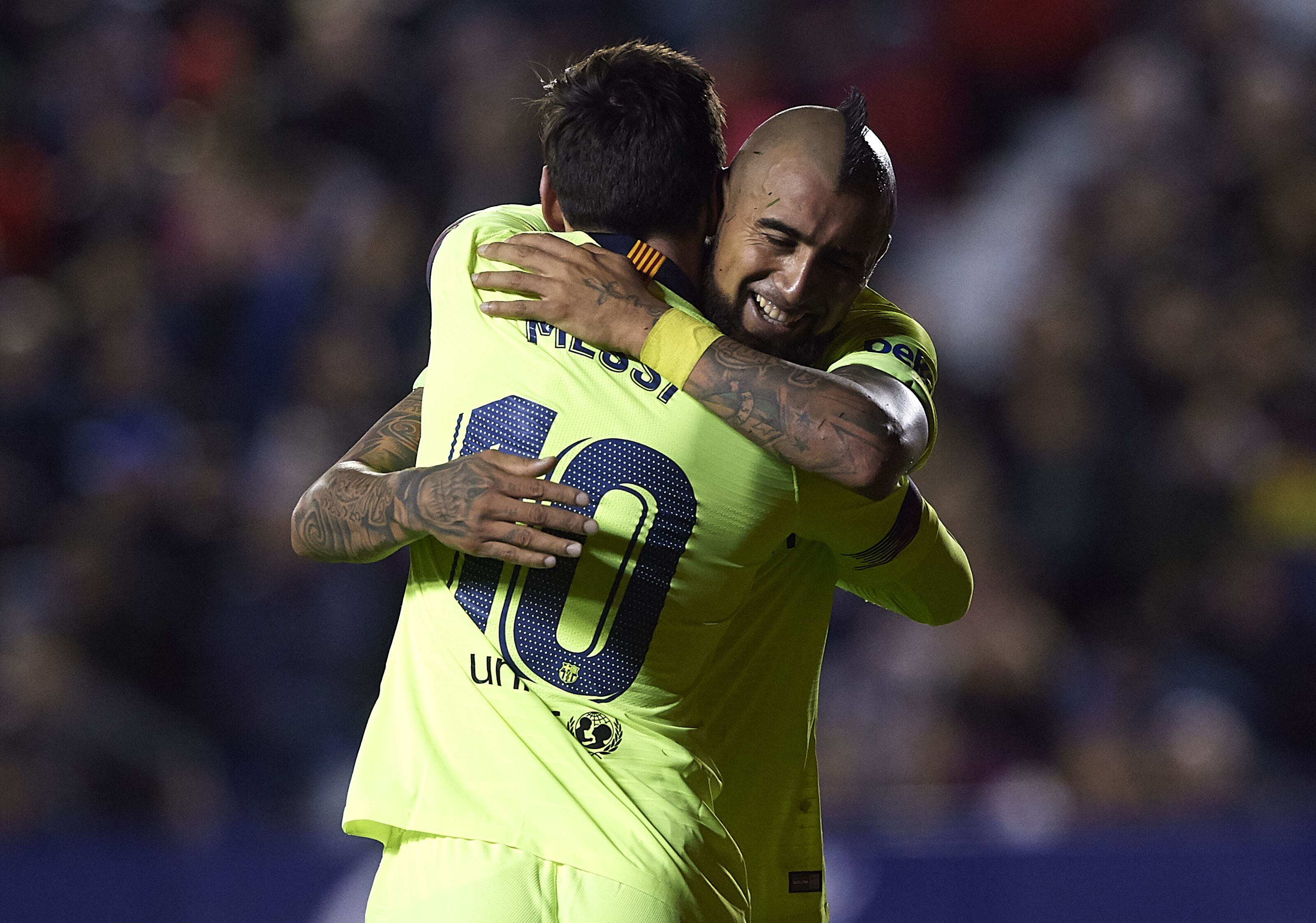 Arturo Vidal confirms Champions League is Barcelona's priority