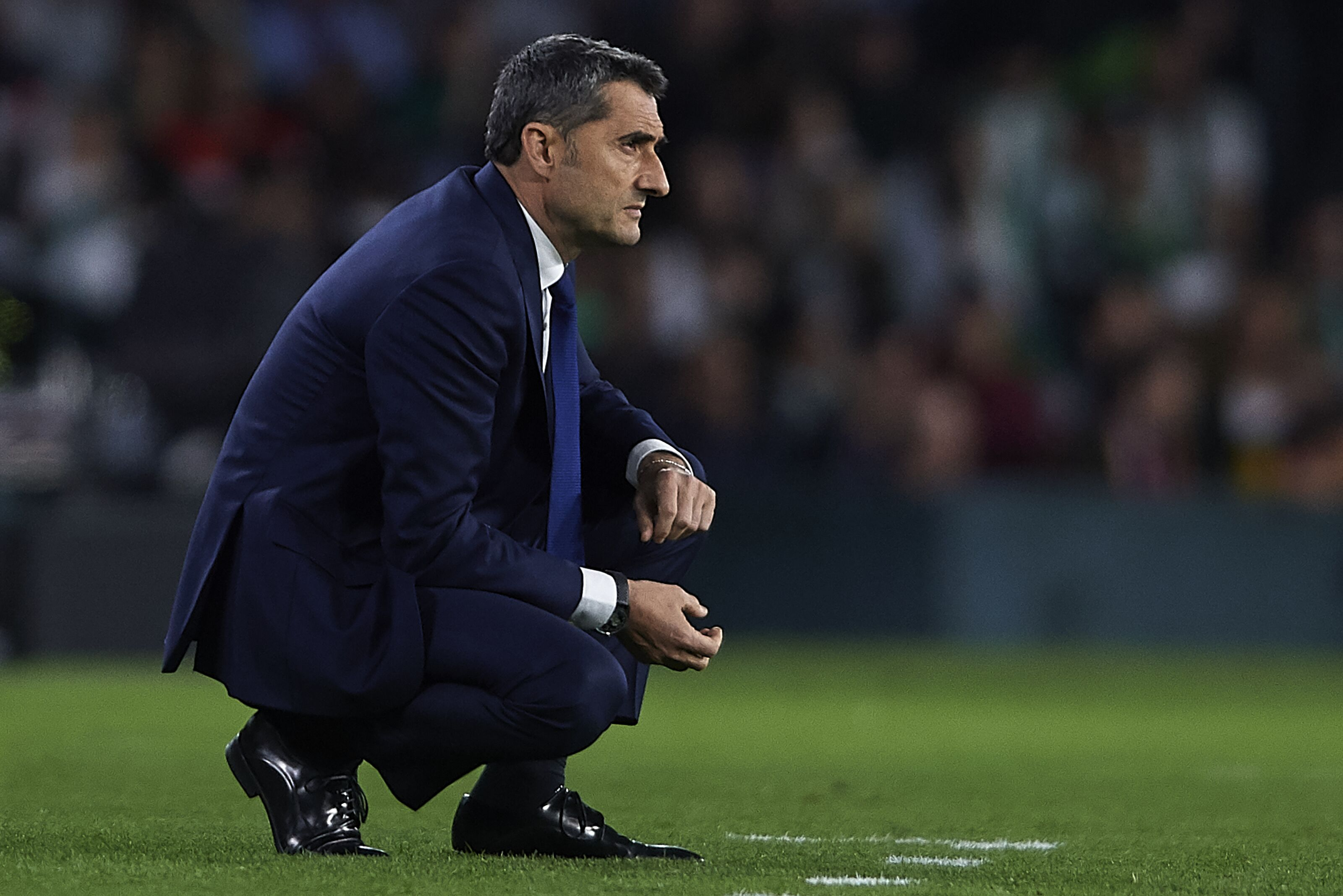 Can Ernesto Valverde etch his name into the Barcelona history books?