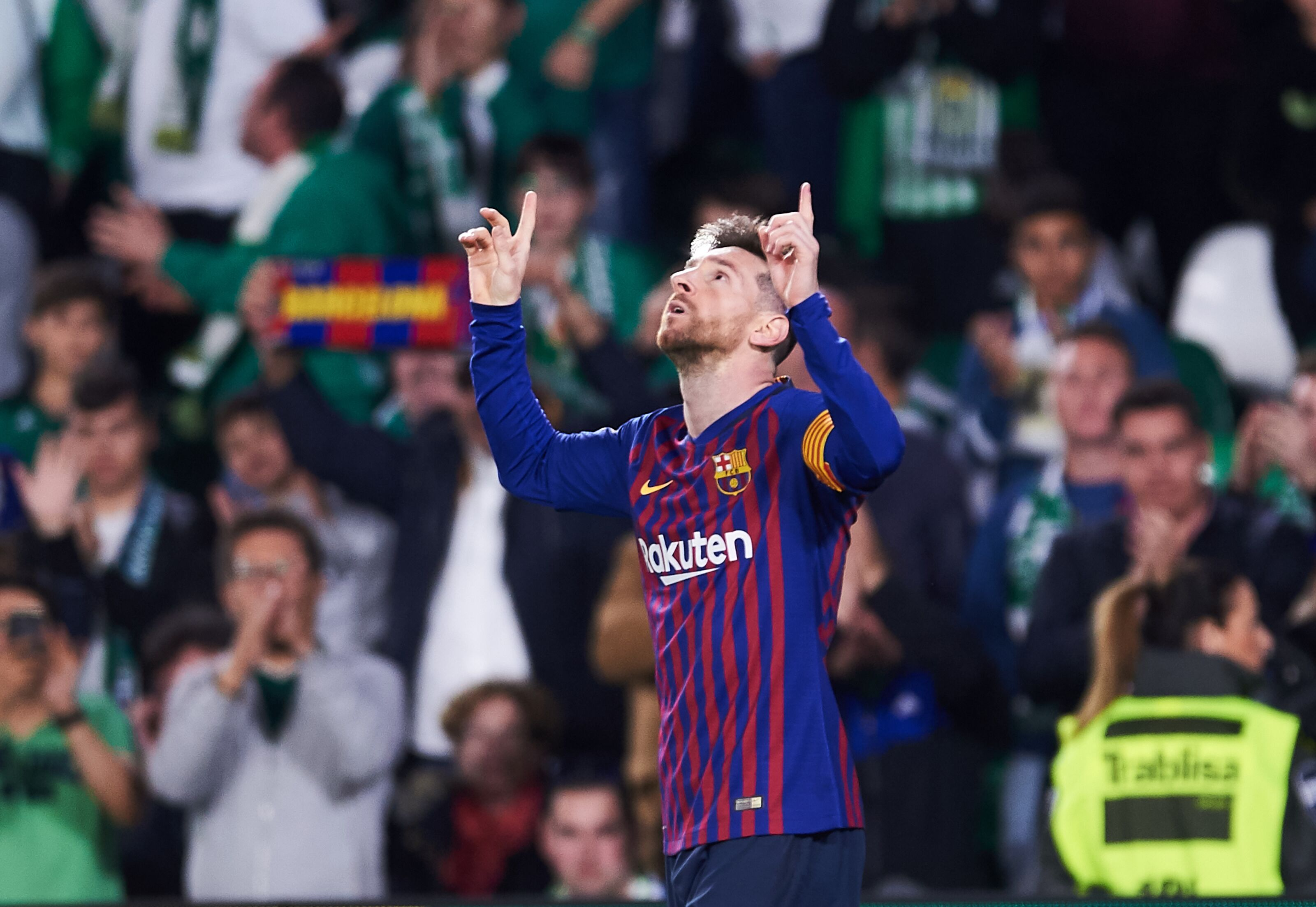 The Barcelona goal which got applause from Real Betis supporters
