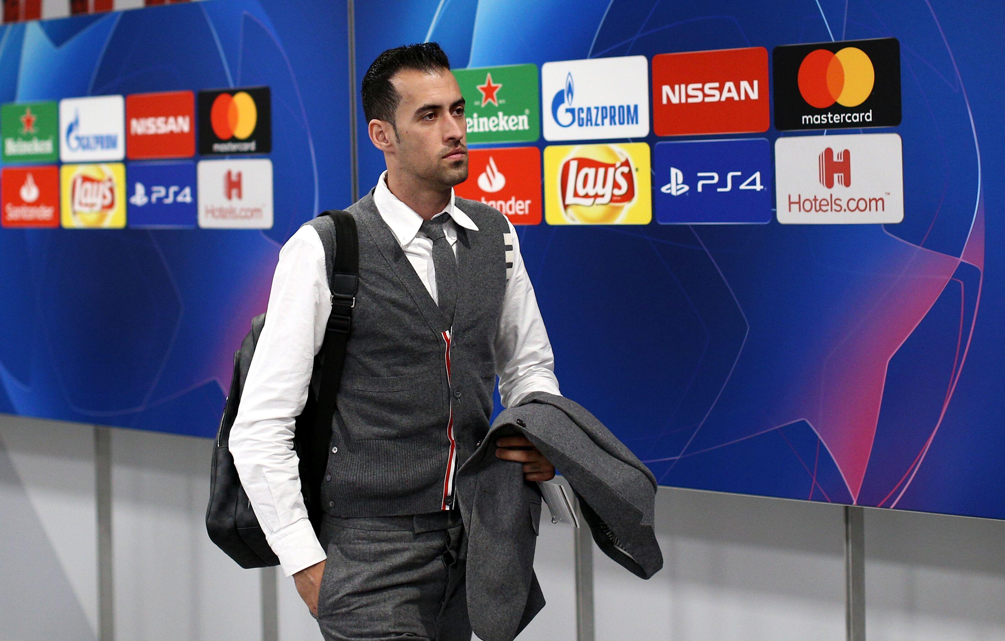 Barcelona shortlist a long-term successor for Sergio Busquets