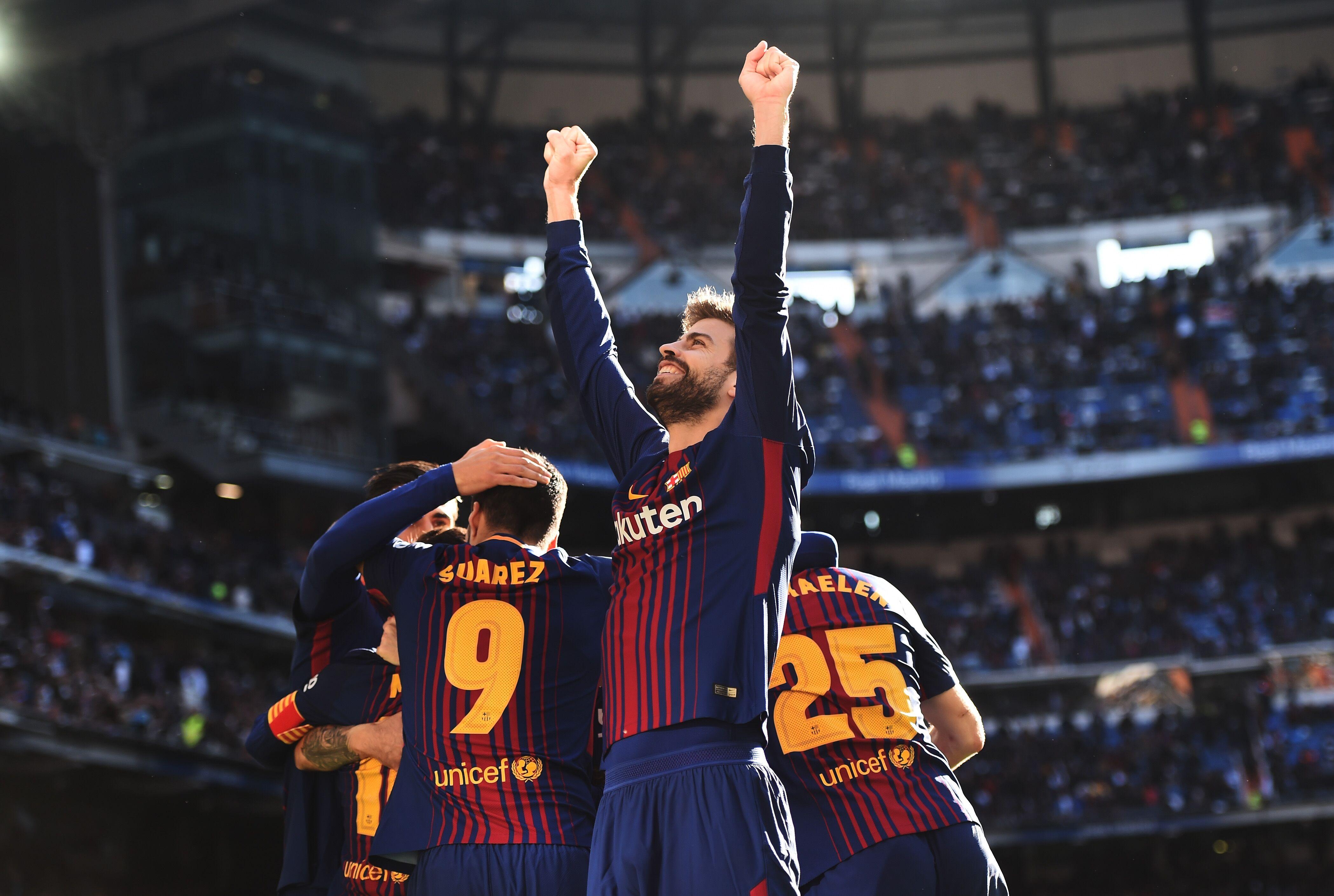 Barcelona Star Gerard Pique Celebrates His 31st Birthday