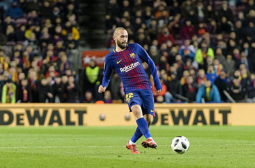 buy popular 6fabb a9e3d Aleix Vidal may have made his last appearance in a Barcelona ...