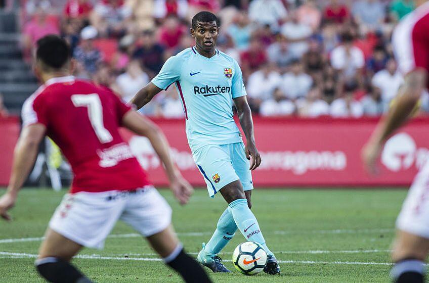 26 Marlon Santos from Spain of FC Barcelona during the friendly match  between Nastic vs FC Barcelona at Nou Estadi de Tarragona on August 4th cd42fa582d725