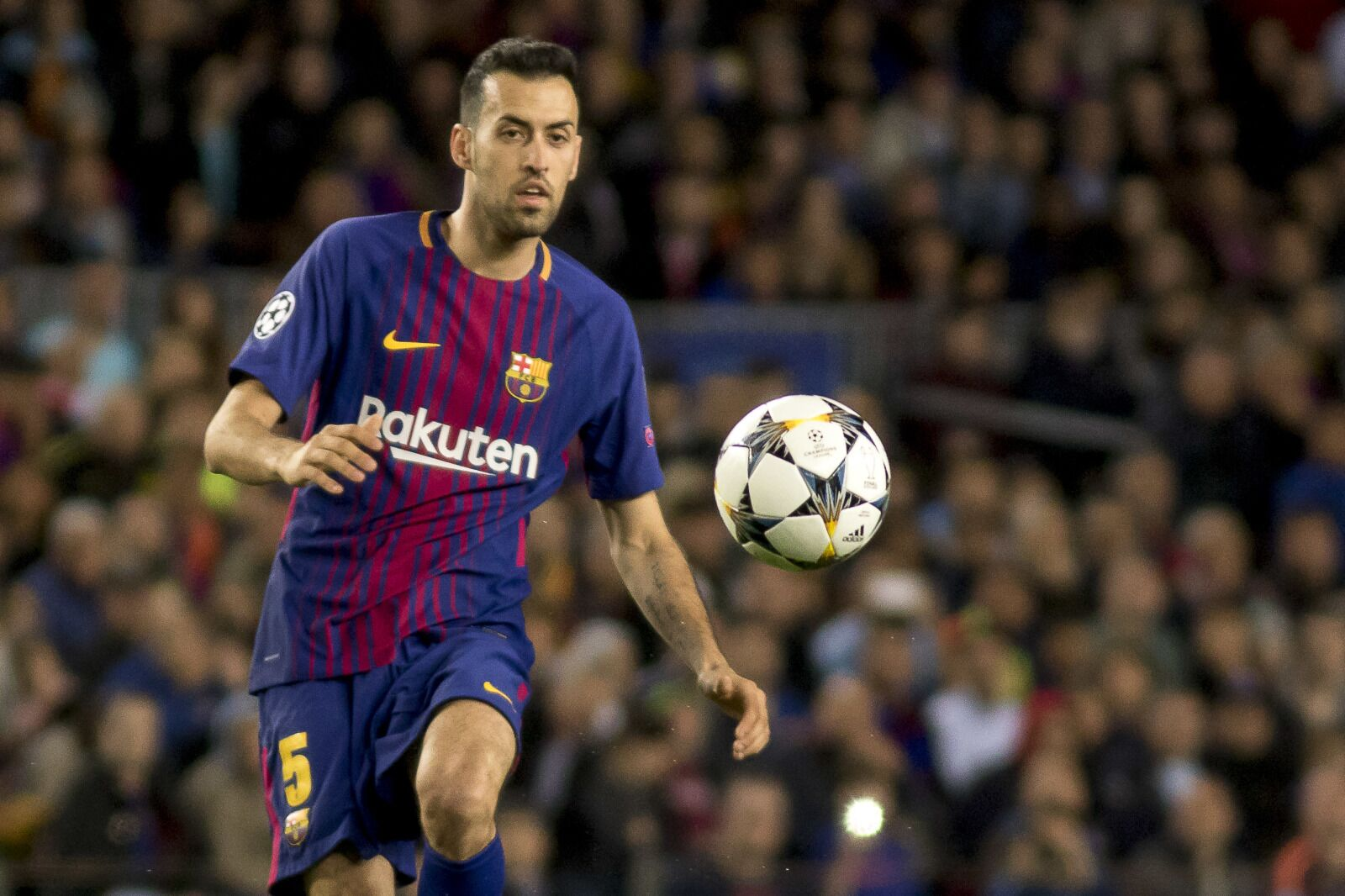 35bf889090c5 Sergio Busquets requested to be subbed off vs. Roma