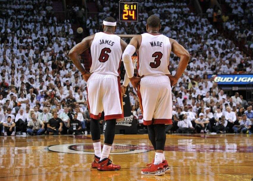 94fabd1c9322 Even Dwyane Wade Left Hanging By LeBron James - Factory of Sadness ...