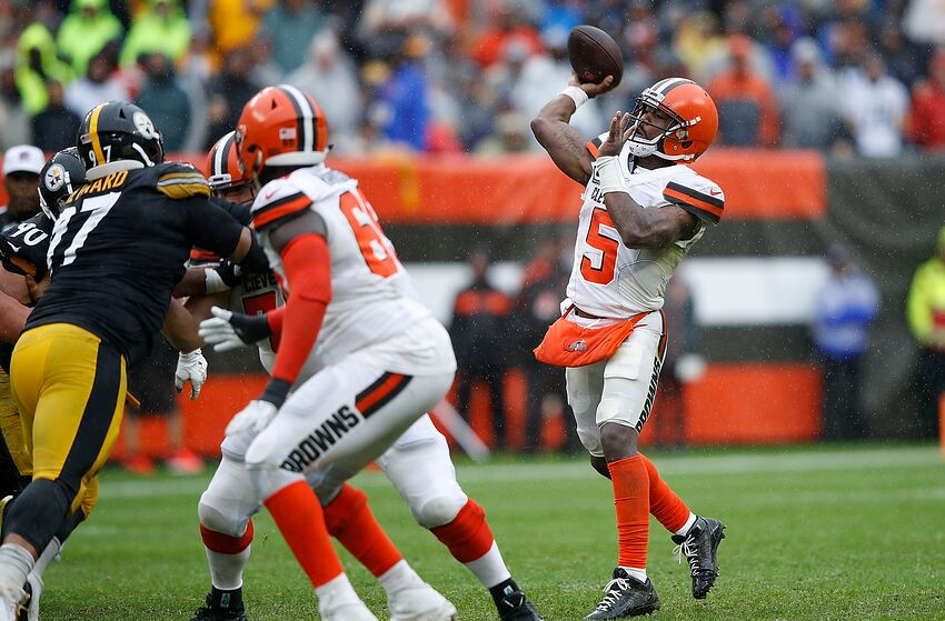 e830b2b8 Cleveland Browns: Hold off on thinking the Tyrod Taylor plan changes