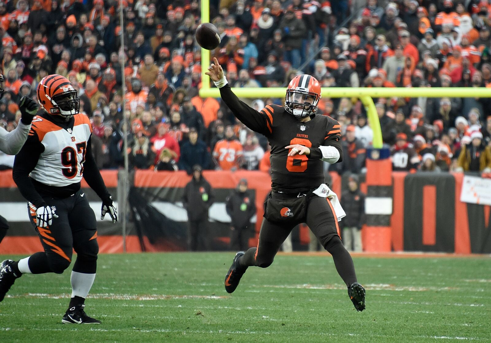 4a645858 Can anything slow down the Cleveland Browns hype train?