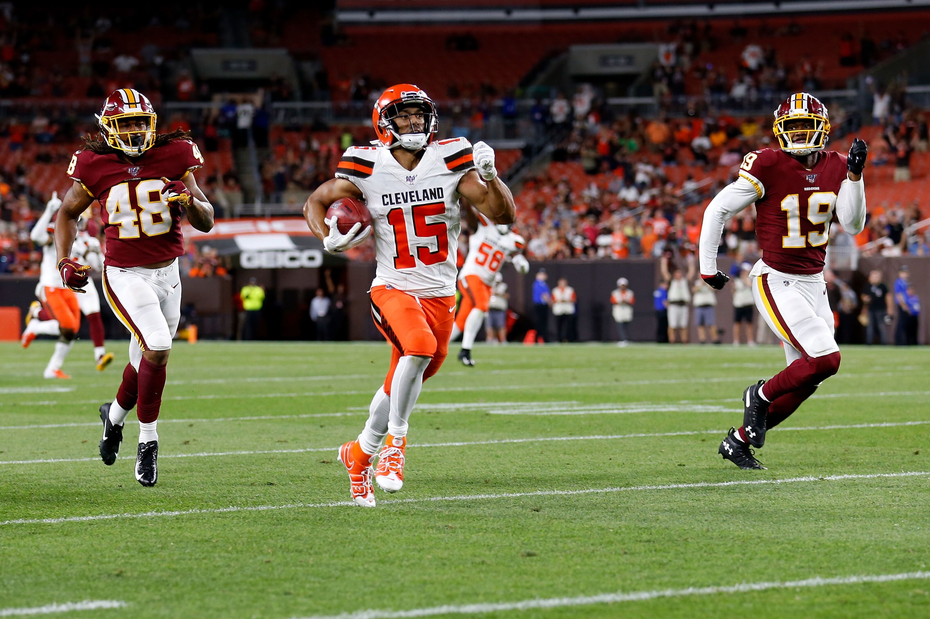 Cleveland Browns: Sheehy-Guiseppi not on final roster 'Right now'