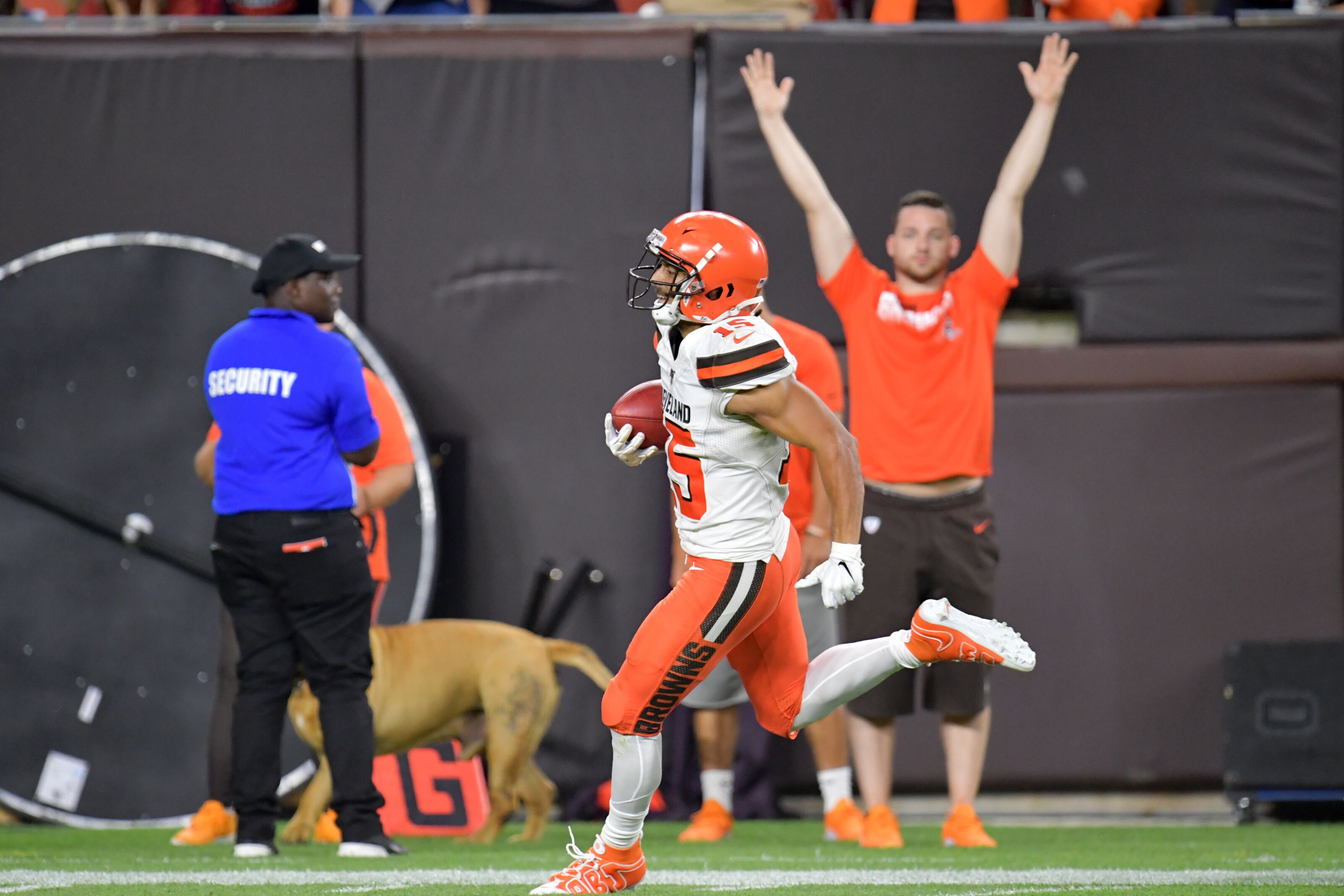 Cleveland Browns: Whose roster spot will Sheehy-Guiseppi take?