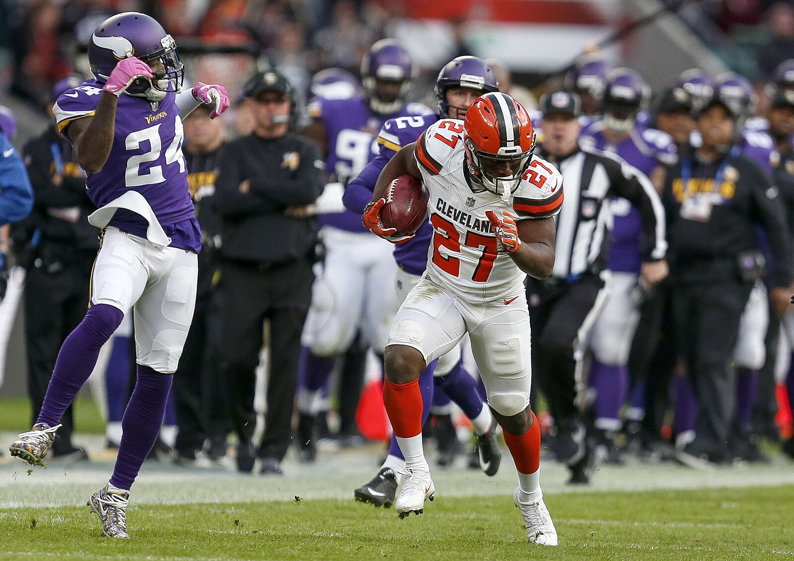 5 Cleveland Browns Who Earned Their Stripes Against Detroit