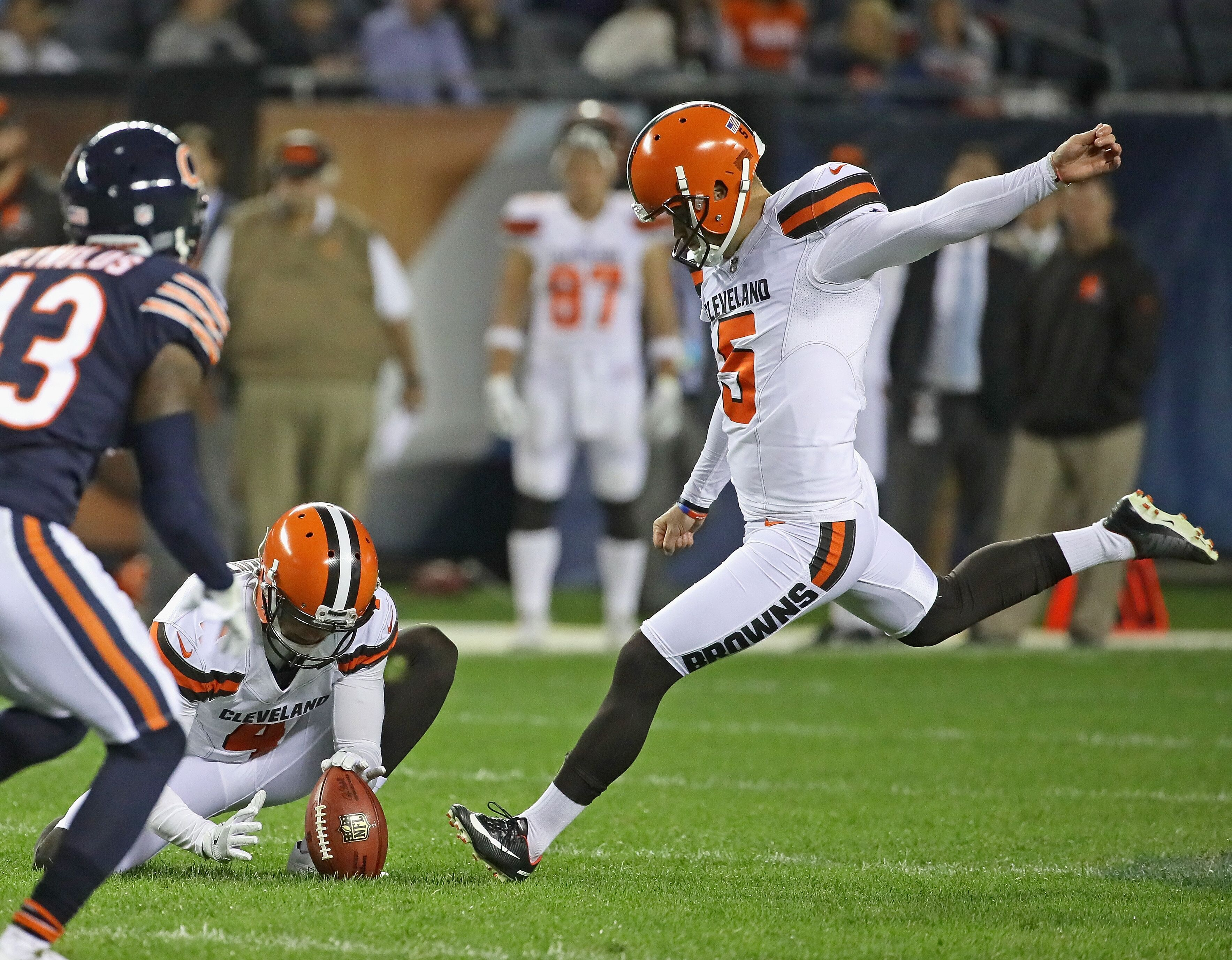 Cleveland Browns did not try out kickers as Zane Gonzalez ...
