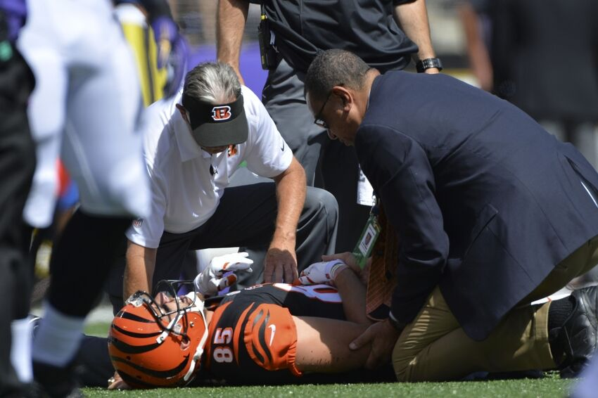 Report: Cincinnati Bengals place TE Tyler Eifert on IR with return designation