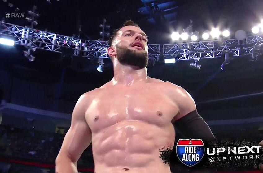 Watch Finn Balor 'Demon King' entrance on WWE RAW (Video)