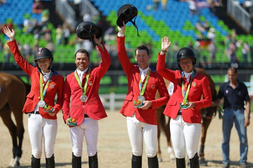 Olympic Equestrian Team Show Jumping Results August 17