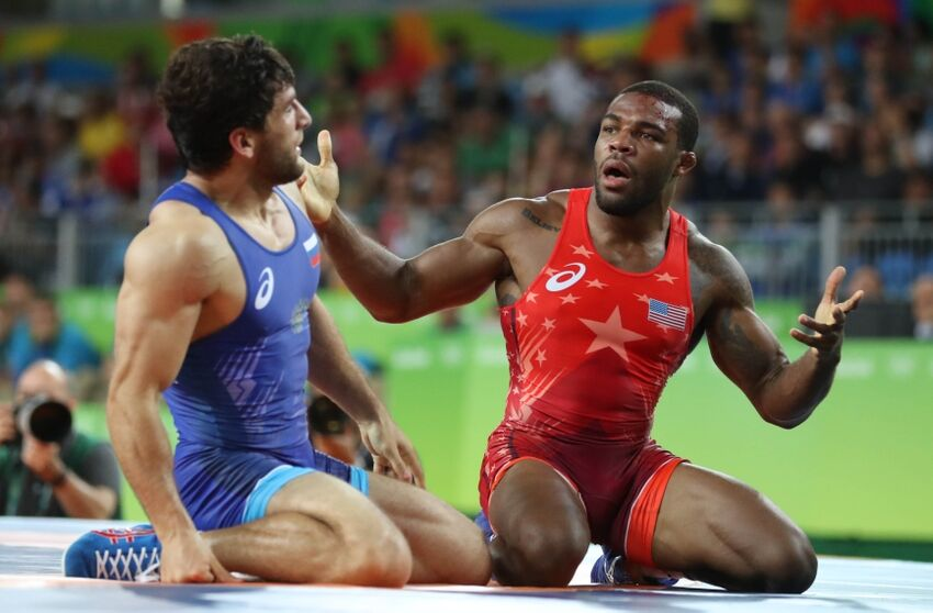 03e290c326d540 Rio 2016  Defending gold medalist Jordan Burroughs upset in quarterfinals