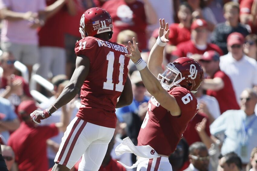 Watch Dede Westbrook Baker Mayfield And Jabrill Peppers React To