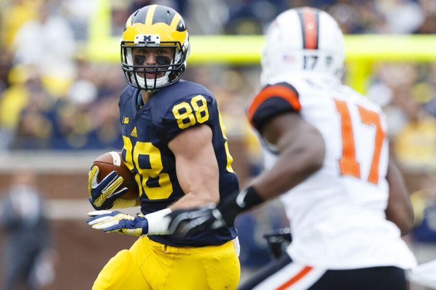 Jake Butt Injury Update: Michigan TE tears ACL, NFL Draft ...