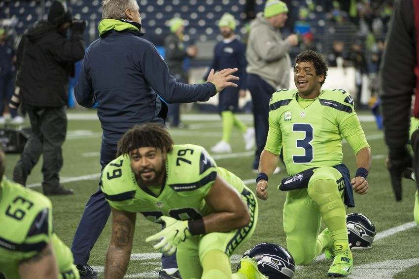 new style 8a570 dc688 Twitter roasts the Seattle Seahawks' lime green Color Rush ...