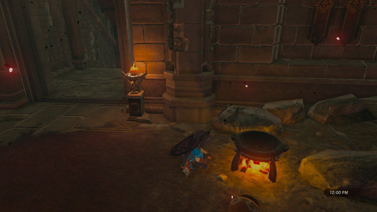 The Legend Of Zelda Breath Of The Wild Getting Through