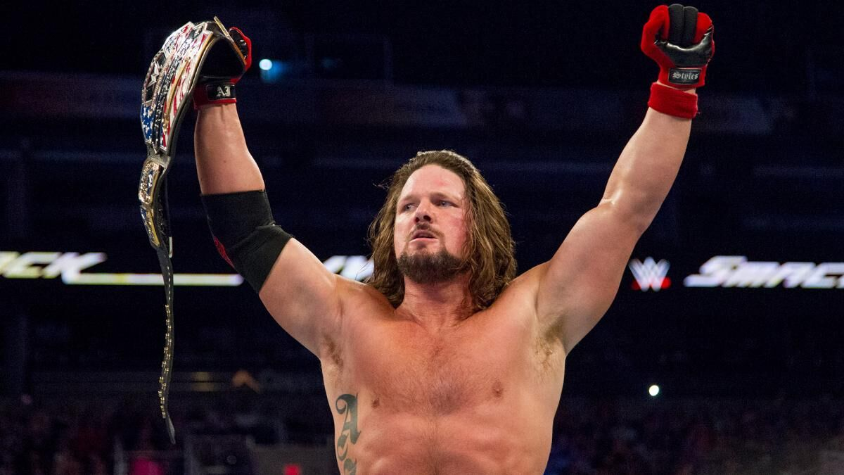 AJ Styles wins United States title at WWE Madison Square Garden live event