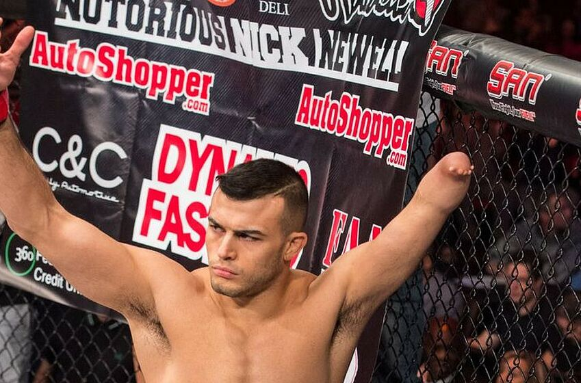 Nick Newell offers to take late-notice fight for UFC Brooklyn
