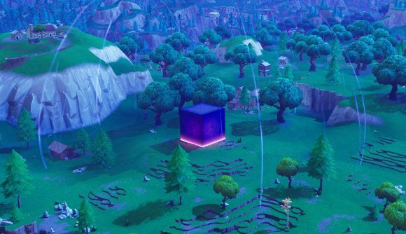 Fortnite Friday Week 8 Challenges And That Giant Purple Cube
