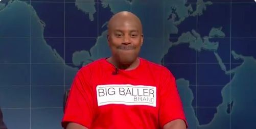 Kenan Thompson as LaVar Ball is worth more than anything BBB can try to sell
