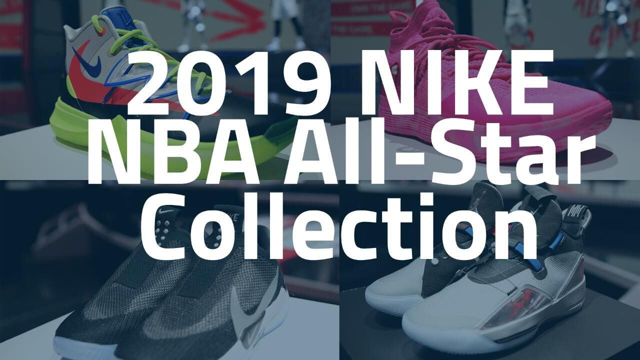 ed034fe921 Nike unveils the 2019 NBA All-Star collection during Super Bowl week