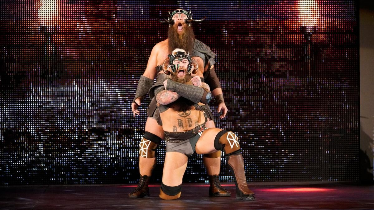 War Raiders renamed The Viking Experience because Vince McMahon felt like it