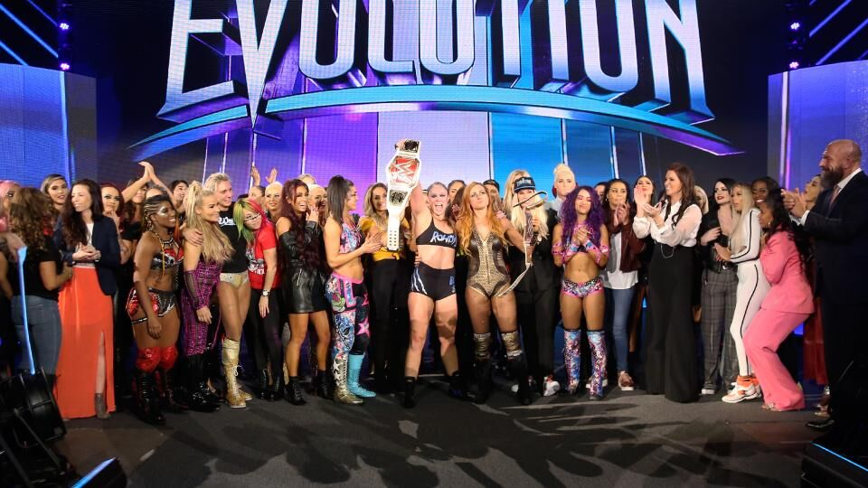 Why WWE Evolution 2 should take place and possible dream matches