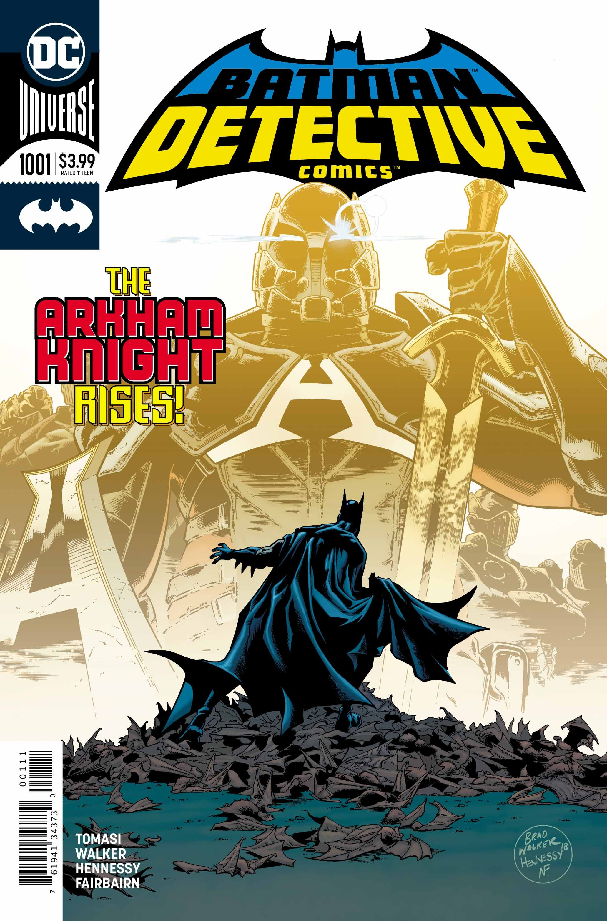 new product da687 cdd90 Detective Comics  1001 exclusive preview  A new era begins with Arkham  Knight