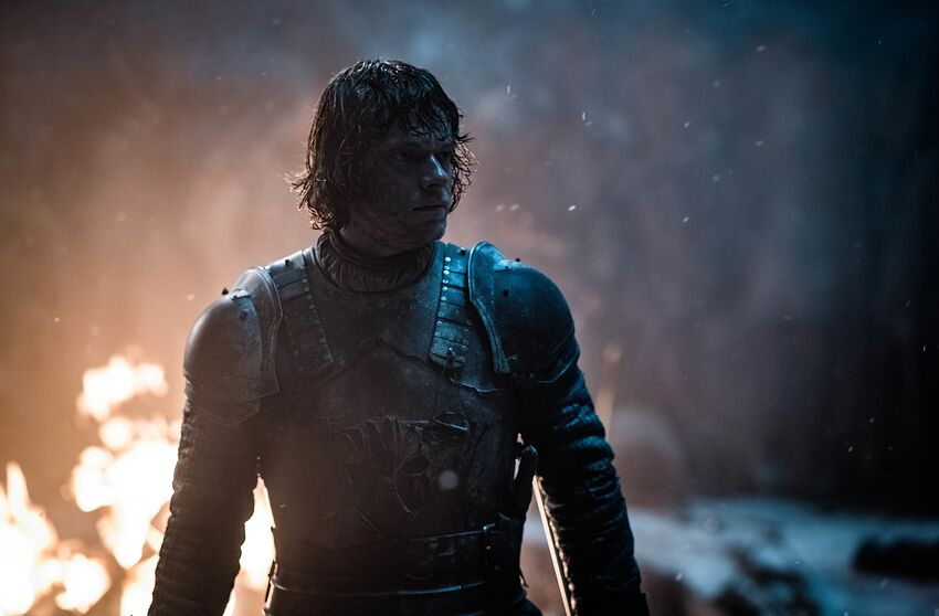 Image result for theon's death in season 8