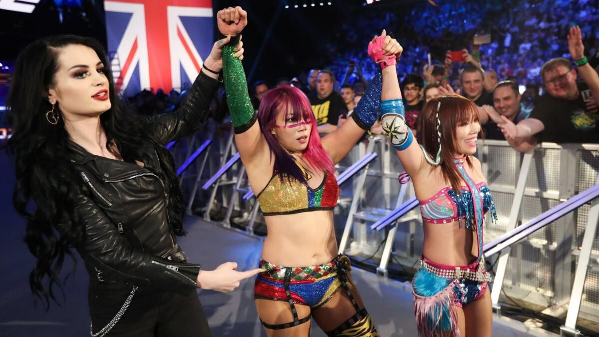 Asuka and Kairi Sane officially get a tag-team name and it's awful