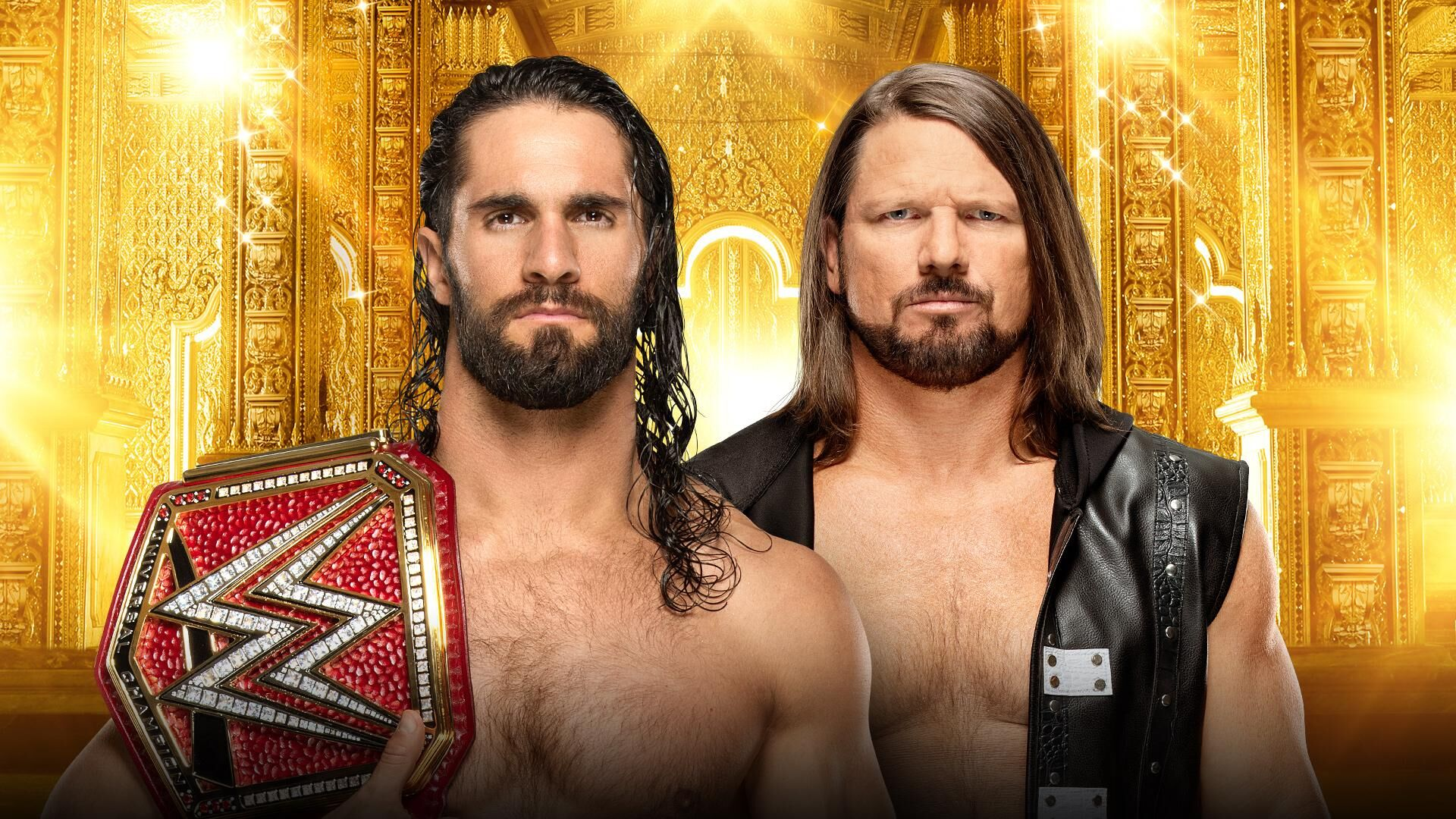 WWE Money in the Bank Universal Title: Seth Rollins vs  AJ